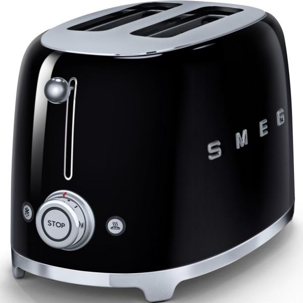 Black Smeg 2 Slice Toaster