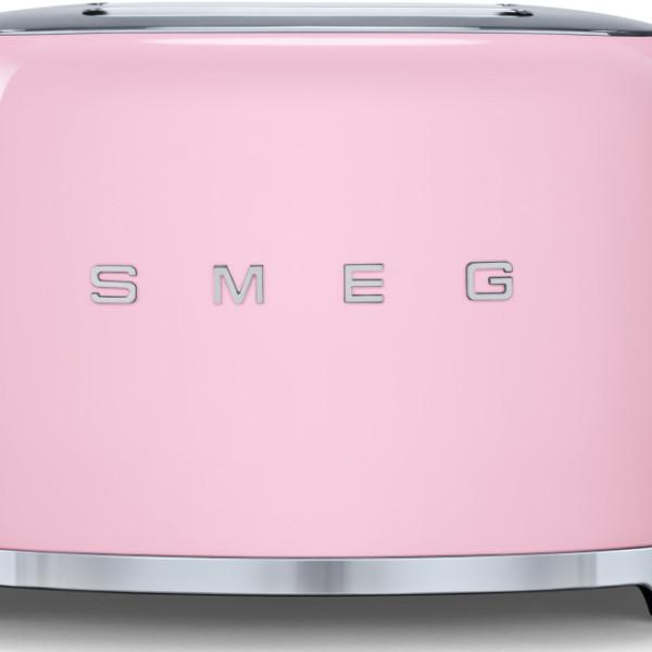 Pink Smeg 2 Slice Toaster